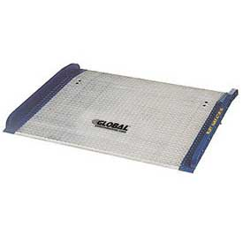 Bluff® BC7248 Aluminum Dock Board with Steel Curbs 72 x 48 15,000 Lb. Cap.