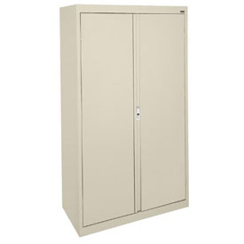 Sandusky System Series Storage Cabinet HA3F301864 Double Door - 30x18x64, Putty