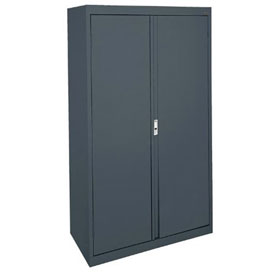 Sandusky System Series Storage Cabinet HA3F361864 Double Door - 36x18x64, Charcoal