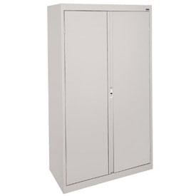 Sandusky System Series Storage Cabinet HA3F361864 Double Door - 36x18x64, Gray
