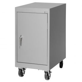 Sandusky Mobile Work Height Storage Cabinet TA11182430 Single Door - 18x24x36, Gray