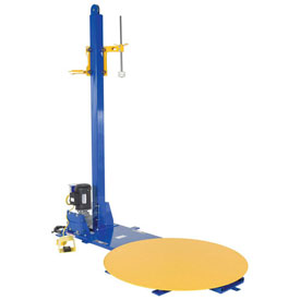 Vestil Semi-Automatic Stretch Wrap Machine W/Manual Stretch Wrap Film Mast, SWA-48, 4000 Lb Capacity