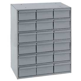 Durham Steel Storage Parts Drawer Cabinet 006-95 - 18 Drawers
