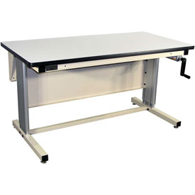 72 X 30 Plastic Top Ergo-Line Workbench- Beige