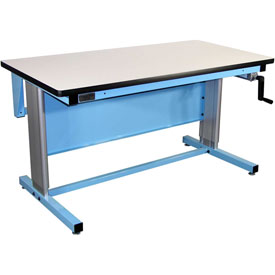 72 X 30 Anti-Static Top Ergo-Line Workbench- Blue