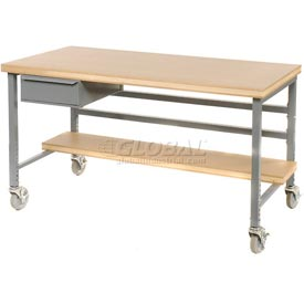 "15""W X 20""D X 6""H Bench Drawer - Gray"