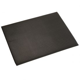 Diamond Plate 1/2 Inch Thick Mat 24x36 Black
