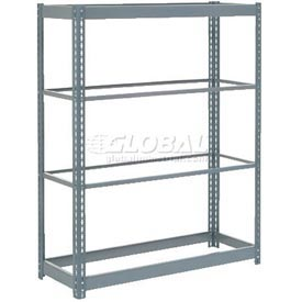 "Heavy Duty Shelving 48""W x 12""D x 60""H With 4 Shelves, No Deck"