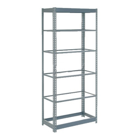 "Heavy Duty Shelving 36""W x 24""D x 84""H With 6 Shelves, No Deck"