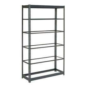 "Heavy Duty Shelving 48""W x 12""D x 84""H With 6 Shelves, No Deck"