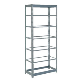 "Heavy Duty Shelving 36""W x 18""D x 84""H With 7 Shelves, No Deck"