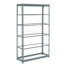 "Heavy Duty Shelving 48""W x 24""D x 96""H With 6 Shelves, No Deck"