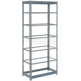 "Heavy Duty Shelving 36""W x 18""D x 96""H With 7 Shelves, No Deck"