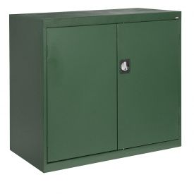 Sandusky Elite Series Counter Height Storage Cabinet EA2R462442 - 46x24x42, Green