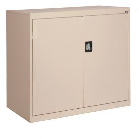 Sandusky Elite Series Counter Height Storage Cabinet EA2R462442 - 46x24x42, Sand