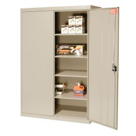 Sandusky Elite Series Storage Cabinet EA4R462472 - 46x24x72, Putty