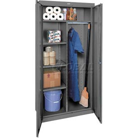 Sandusky Elite Series Combination Storage Cabinet EACR462472 - 46x24x72, Charcoal