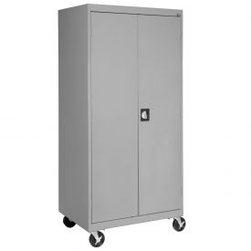 Sandusky Mobile Combination Cabinet TACR462472  - 46x24x78, Gray