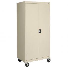 Sandusky Mobile Combination Cabinet TACR462472  - 46x24x78, Putty
