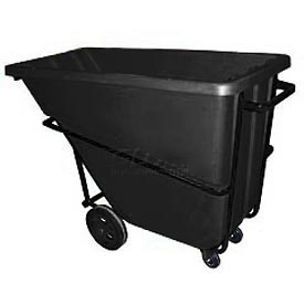 Bayhead Products Black Heavy Duty 5/8 Cubic Yard Tilt Truck 1500 Lb. Capacity
