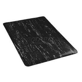 Marbleized Top 18x30 Mat Black