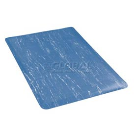 Marbleized Top 18x30 Mat Blue