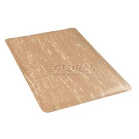 Marbleized Top 36 Inch Wide Mat Sandalwood