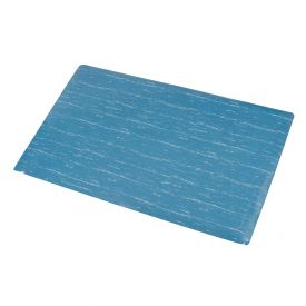 Marbleized Top Matting 4 Ft Wide Blue