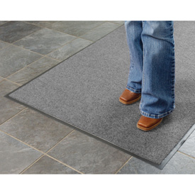 Absorbent Ribbed Mat 24x36 Gray