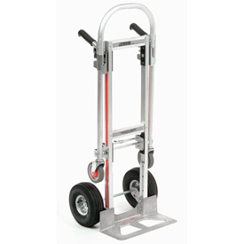 Magliner® Gemini Junior 2-in-1 Convertible Hand Truck - GMK16UA4 - Pneumatic Wheels