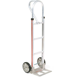 Magliner® Aluminum Hand Truck Loop Handle Mold-On Rubber Wheels