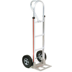 Magliner® Aluminum Hand Truck Loop Handle Semi-Pneumatic Wheels