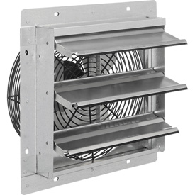 "Exhaust Ventilation Fan With Shutter 12"" Single Speed With Hardware"