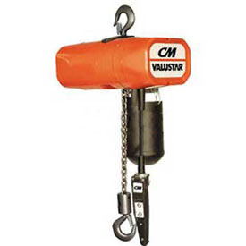 CM Valuestar Electric Chain Hoist with Chain Container - 500 lb. Capacity