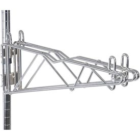 "Adjustable Double Shelf Support 18"" Deep"
