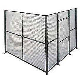 Husky Rack & Wire EZ Wire Mesh Partition Component Panel 2'Wx10'H