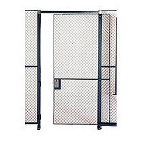 Husky Rack & Wire EZ Wire Mesh Partition Sliding Door - 6'Wx8'H