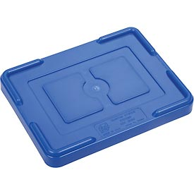 "Lid COV91000 for Plastic Dividable Grid Container, 10-7/8""L x 8-1/4""W, Blue - Pkg Qty 10"