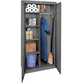 Sandusky Elite Series Combination Storage Cabinet EACR361872 - 36x18x72, Charcoal