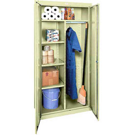 Sandusky Elite Series Combination Storage Cabinet EACR361872 - 36x18x72, Putty