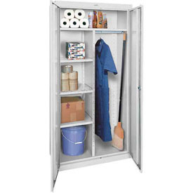 Sandusky Elite Series Combination Storage Cabinet EACR362472 - 36x24x72, Gray