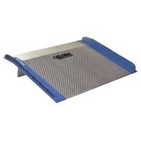 Bluff® AC7260 Aluminum Dock Board with Steel Curbs 72 x 60 10,000 Lb. Cap.