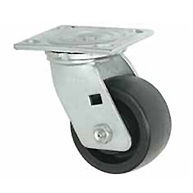 "Faultless Swivel Plate Caster 1465W-6 6"" Thermoplastic Wheel"