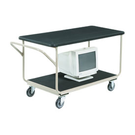 "Instrument Cart 48 x 24 With 5"" Casters"