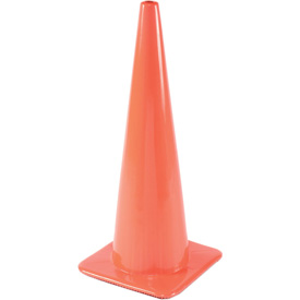 Traffic Cone Non-Reflective With Custom Imprinting, 2850-07-L - Pkg Qty 50