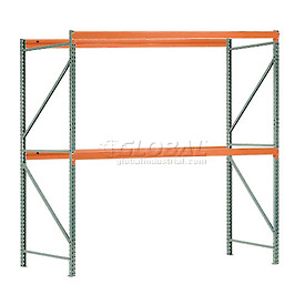 "Interlake Mecalux Pallet Rack Tear Drop Starter 120""W x 42""D x 144""H"