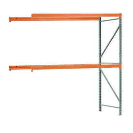 "Interlake Mecalux Pallet Rack Tear Drop Add-On 96""W x 48""D x 144""H"