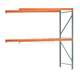 "Interlake Mecalux Pallet Rack Tear Drop Add-On 108""W x 42""D x 144""H"