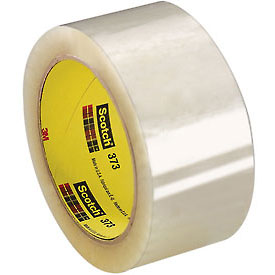 "3M Carton Sealing Tape 373 2"" x 55 Yds 2.5 Mil Clear - Pkg Qty 36"