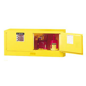 Flammable Liquid Piggyback Cabinet Manual 2 Door Vertical Storage
